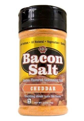J&D Foods Cheddar Bacon Salt 2.5 Oz -