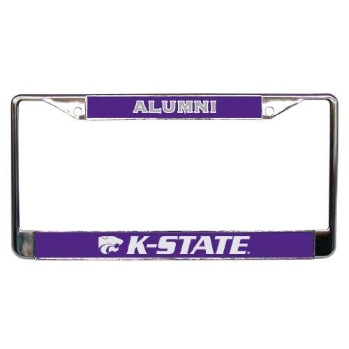 Kansas State University - License Plate Frame - Alumni (License Plate Frame Kansas State compare prices)