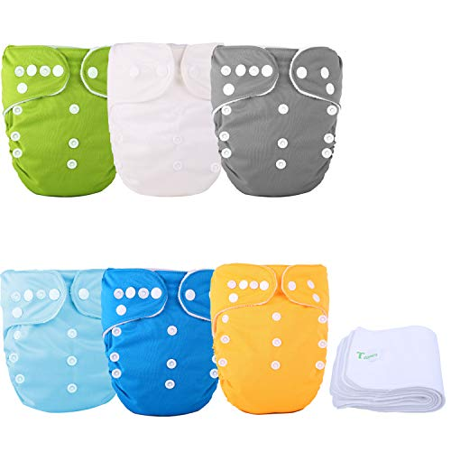 TDIAPERS One Size Baby Washable Reusable Pocket