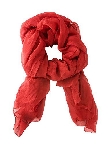 Max Mara Pianoforte Women's Potenza Silk Scarf One Size Red - Max Mara Silk