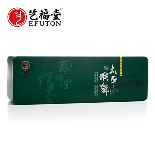 - China Tea Yi Fu Tea Taiping Houkui tea ceremony manual business gift 2017 premium tea Green Tea country 100g