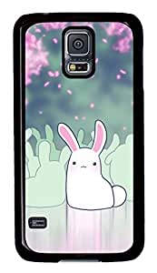Bunny Black Hard Case Cover Skin For Samsung Galaxy S5 I9600
