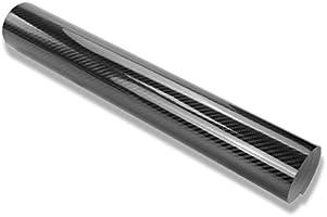 TECKWRAP 1ft x 5ft 5D High Gloss Black Carbon Fiber Vinyl
