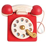 Le Toy Van Honeybake Collection Vintage Phone Premium Wooden Toys for Kids Ages 2 Years & Up