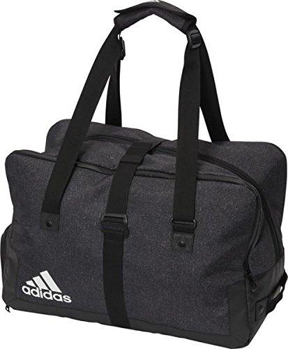 Adidasテニス週末バッグ B072DV4WFZ  ブラック/ブラック/ホワイト