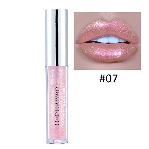 DMZ Polarized Lip Gloss Mermaid Colorful Pearlescent Waterpr