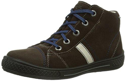 Superfit 300103 TENSY Jungen Hohe Sneakers Braun (MOCCA KOMBI 11)