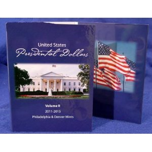 Presidential Dollar Folder – Volume 2 P&D (2011-2015)
