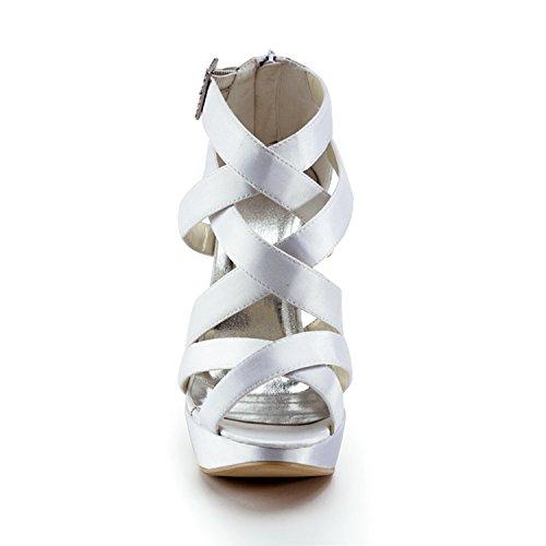 Minitoo , Escarpins pour femme - beige - Ivory-12cm Heel, 38