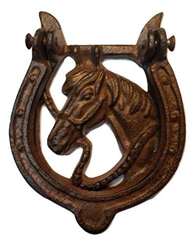 horse cast iron doorknocker - 4