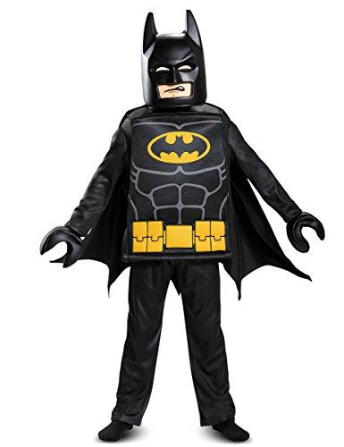 Batman Lego Costume (Batman Lego Movie Deluxe Costume w/ Display Box)