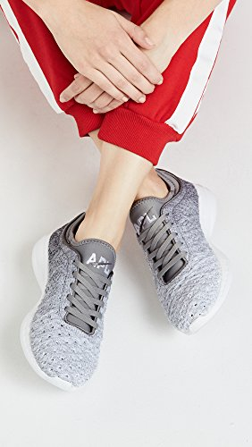 Ombre Labs Propulsion APL White Running Techloom Gunmetal Phantom Shoe Women's Athletic qawExSEv