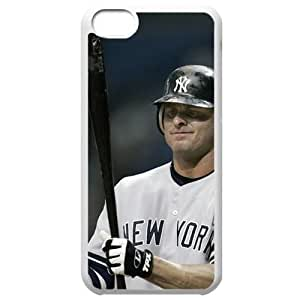 MLB Iphone 5C White New York Yankees cell phone cases&Gift Holiday&Christmas Gifts NBGH6C9125784