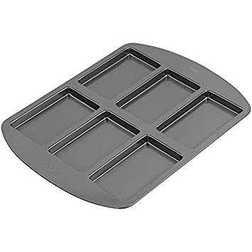 Wilton 2105-3645 Non-Stick 6-Cavity Cake Pan