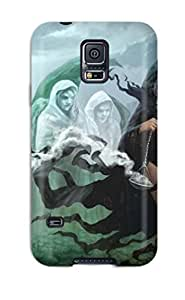 Anti-scratch And Shatterproof Midnight Procession Phone Case For Galaxy S5/ High Quality Tpu Case