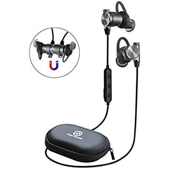 Wireless Bluetooth Earbuds | Forone Magnetic Headphones with Crystal Sound | IPX4 Waterproof Noise-Cancelling Headset with Mic | Fitness, Exercise, Running, Gym,Sports