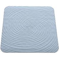 FERIDRAS Vortice Antideslizante Alfombrilla, de Goma, Azul, 2x
