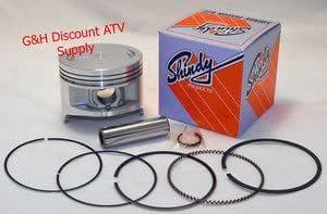 Details about  /Piston Kit For 1990 Kawasaki KLF300 Bayou 4x4 ATV Wiseco 4671M07700