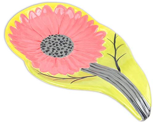 Tons of Detail Paint Your Own Ceramic Keepsake Sunflower Spoon Rest