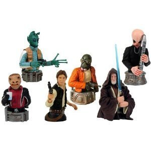 Star Wars Bust Ups Series 6 Full set of 6 (japan (Star Wars The Force Unleashed 2 Costumes And Lightsabers)