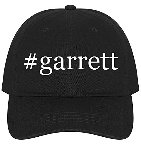 #Garrett - A Nice Comfortable Adjustable Hashtag Dad Hat Cap, Black