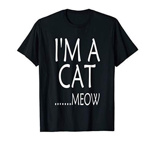 Cat Funny Simple Animal Halloween Costume T-Shirt ()