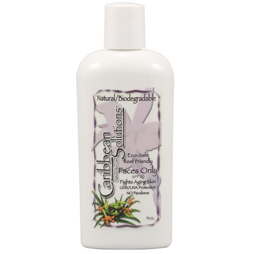 Caribbean Solutions Faces Only SPF 20, 4 Fluid Ounce