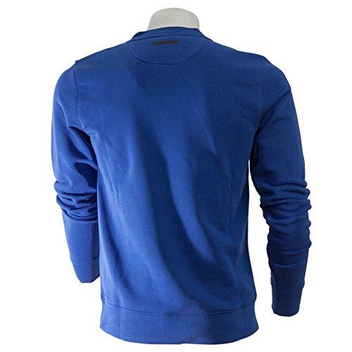 Uomo Felpa Bluette Grigio Woolrich Wofel1118 4vSwWq
