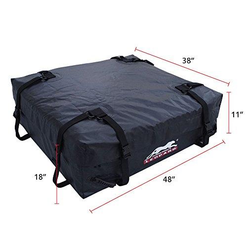 Leopard 100 Waterproof Soft Roof Top Cargo Bag 15 Cubic