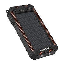 Cargador solar con bateria de 12000 mAh 1