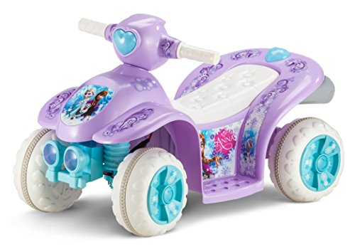 Kid Trax Frozen 6V Toddler Quad Ride On, Purple