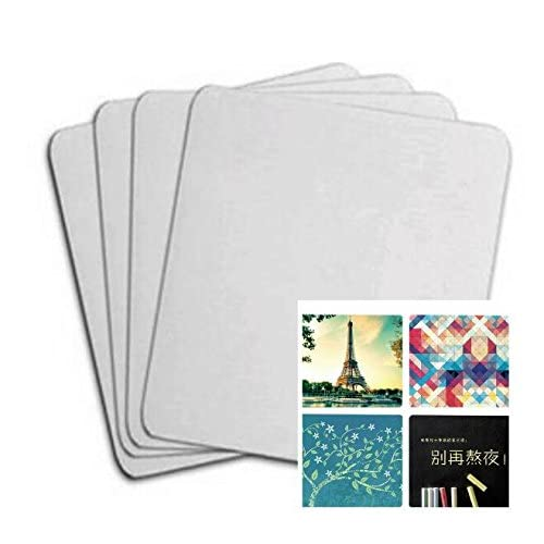 10pcs Blank Mouse Pad For Sublimation INK Transfer Heat Press Printing Crafts supplier