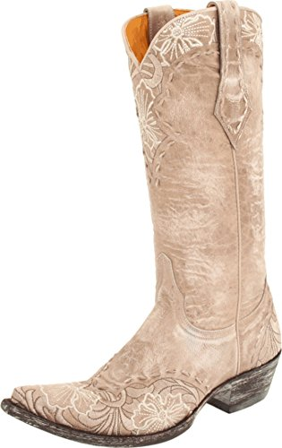 Old Gringo Women's Erin Western L640 Boot,Bone,7 B - Erin Leather