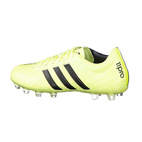 adidas adipure11pro FG Botas de fútbol, tamaño b24148UK 7Luz Flash Amarillo/Gris oscuro/semi solar amarillo