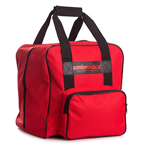 Embroidex RED SERGER/OVERLOCK Carrying Case - Carry Tote/Bag Universal ()