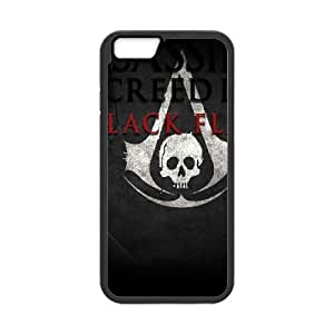 iPhone 6 4.7 Inch Cell Phone Case Black Assassins Creed Black Flag SJ9463627