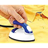Mammoth New Micro Mini Iron Travel Compact Portable Electrical Clothes Press Iron- Assorted Color