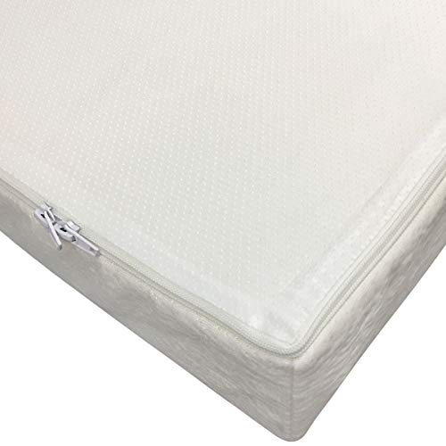 41WvZ14vlGL - Clevr Premium Memory Foam Baby & Toddler Crib Mattress With Waterproof Ultra Soft Bamboo Fabric Cover