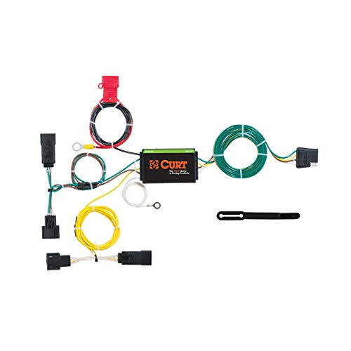Dodge Charger Trailer Hitch - CURT 56234 Vehicle-Side Custom 4-Pin Trailer Wiring Harness for Select Dodge Charger