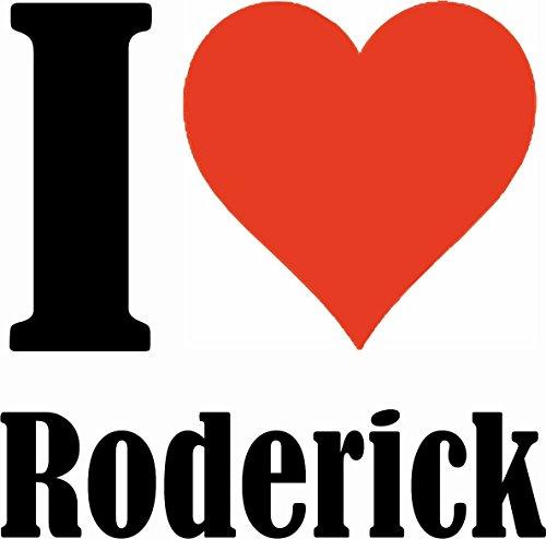 """Handyhülle iPhone 4 / 4S """"I Love Roderick"""" Hardcase Schutzhülle Handycover Smart Cover für Apple iPhone … in Weiß … Schlank und schön, das ist unser HardCase. Das Case wird mit einem Klick auf deinem"""