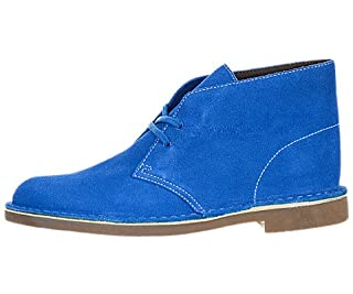 Clarks Bushacre Boot - Blue Suede, 9.5 D US (B00IGG7EJ0) | Amazon price tracker / tracking, Amazon price history charts, Amazon price watches, Amazon price drop alerts