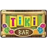 "Beistle Large Plastic 3-D Tiki Bar Sign 12.5"" x 17"" Decoration"