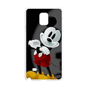 QQQO Disney's Magical Quest mickey juegos Cell Phone Case for Samsung Galaxy Note4