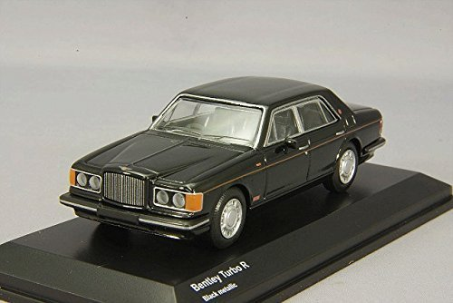Kyosho 1/64 Bentley Turbo R black KS07043A2 finished product