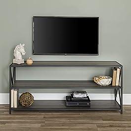 WE Furniture AZS60XMWGWW Bookcase