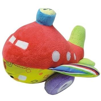 Avión de peluche para niño