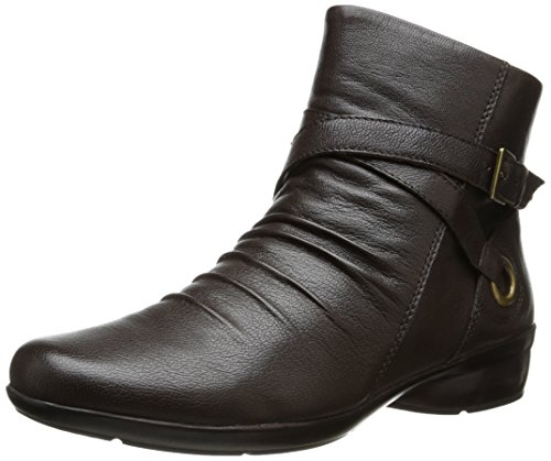 Naturalizer Leather Oxford Boot Women's Brown Cycle rwqnSUrx8
