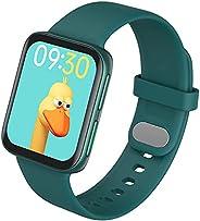 "Smartwatch GT9 XFTOPSE, Chamada Bluetooth, Tela Dupla Curva 1,75"", 24H Monitoramento do Ritmo Cardíaco, B"