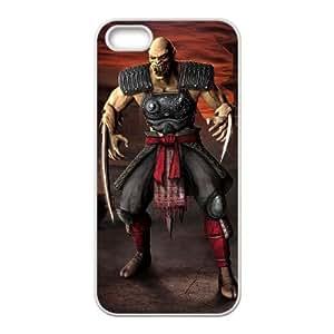 Mortal Kombat vs. DC Universe iPhone 5 5s Cell Phone Case White Gimcrack z10zhzh-3304813