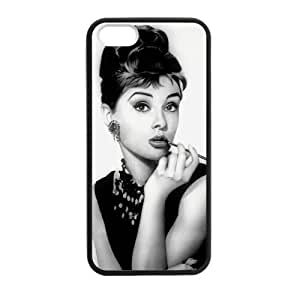 Audrey Hepburn Smoke Black Case for iPhone for iPhone 5 5s case
